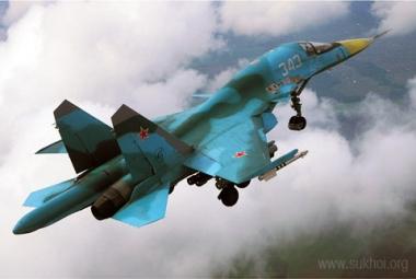 القاذفة المقاتلة سوخوي- 34 29737