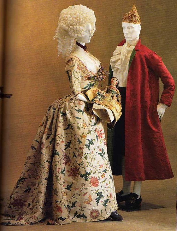 Robes du XVIIIe siècle Anglaise21