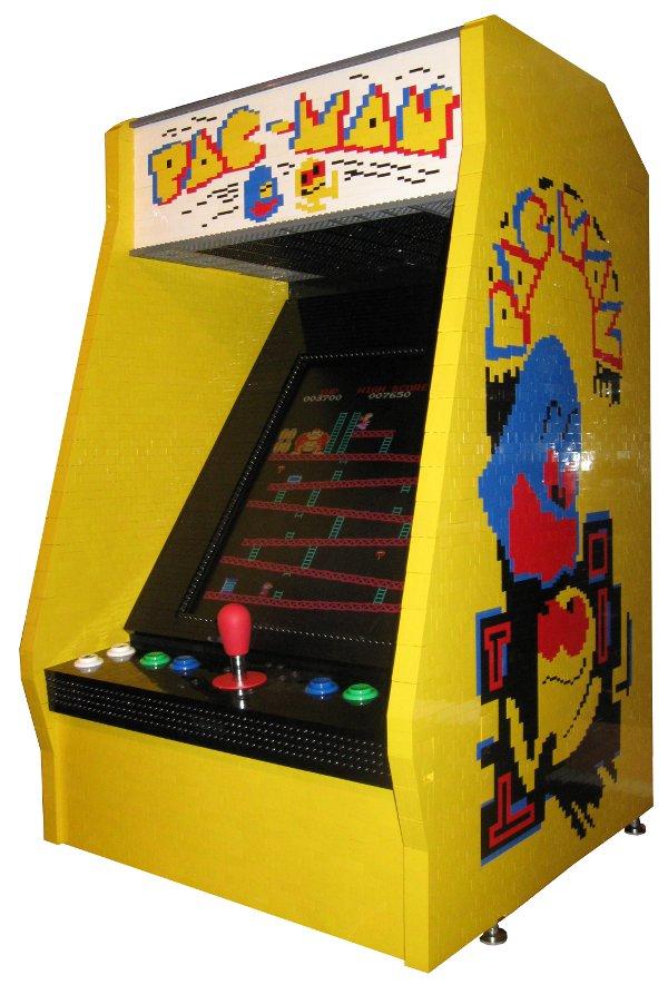 BYAOC = Build Your Own Arcade Cabinet 2010-05-19-LegoCab