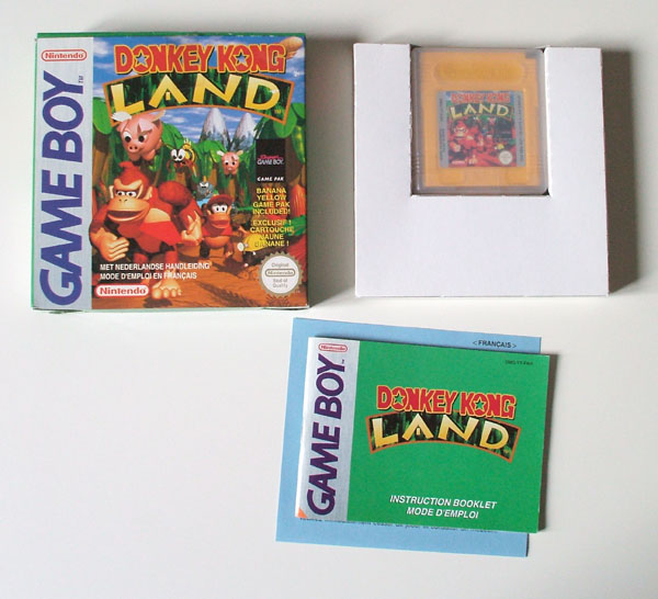 Petite collection Game Boy FR (jeu set et match) Dkland