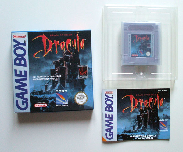 Petite collection Game Boy FR (jeu set et match) Dracula