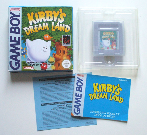 Petite collection Game Boy FR (jeu set et match) Kirby
