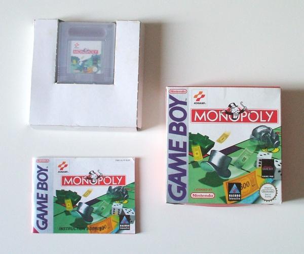 Petite collection Game Boy FR (jeu set et match) - Page 3 Monopoly