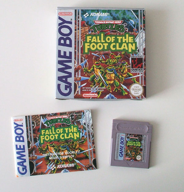Petite collection Game Boy FR (jeu set et match) Ninja