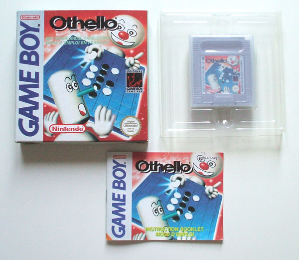 Petite collection Game Boy FR (jeu set et match) Othello
