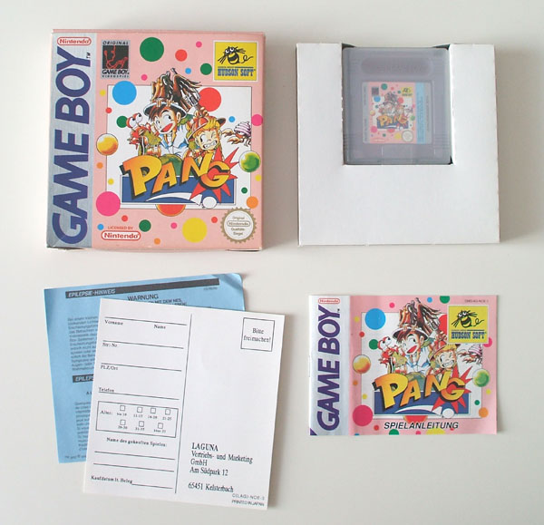 Petite collection Game Boy FR (jeu set et match) Pang