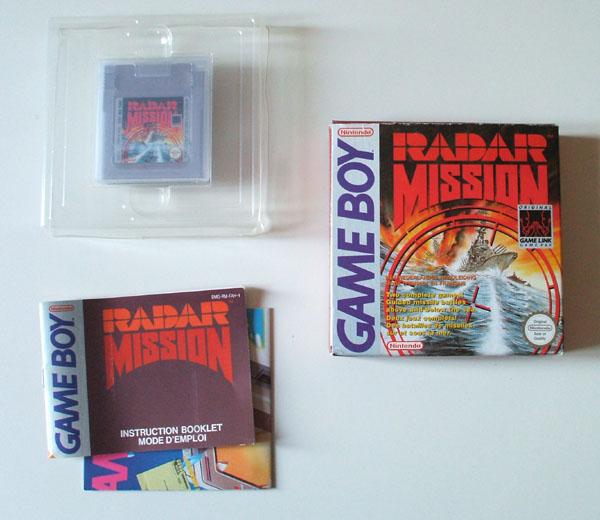 Petite collection Game Boy FR (jeu set et match) - Page 2 Radar