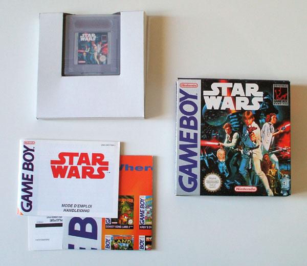 Petite collection Game Boy FR (jeu set et match) - Page 3 Starwars
