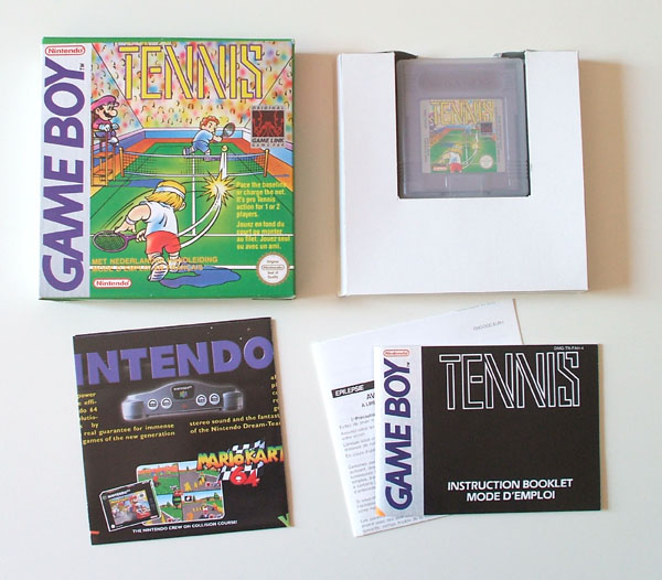 Petite collection Game Boy FR (jeu set et match) Tennis