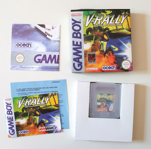 Petite collection Game Boy FR (jeu set et match) Vrally