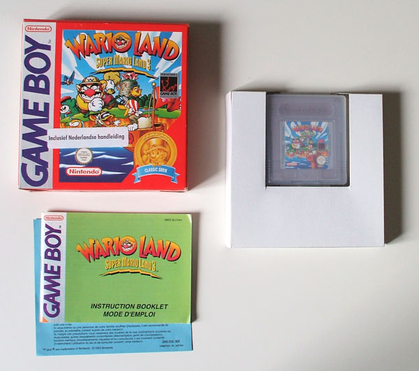 Petite collection Game Boy FR (jeu set et match) Warioland