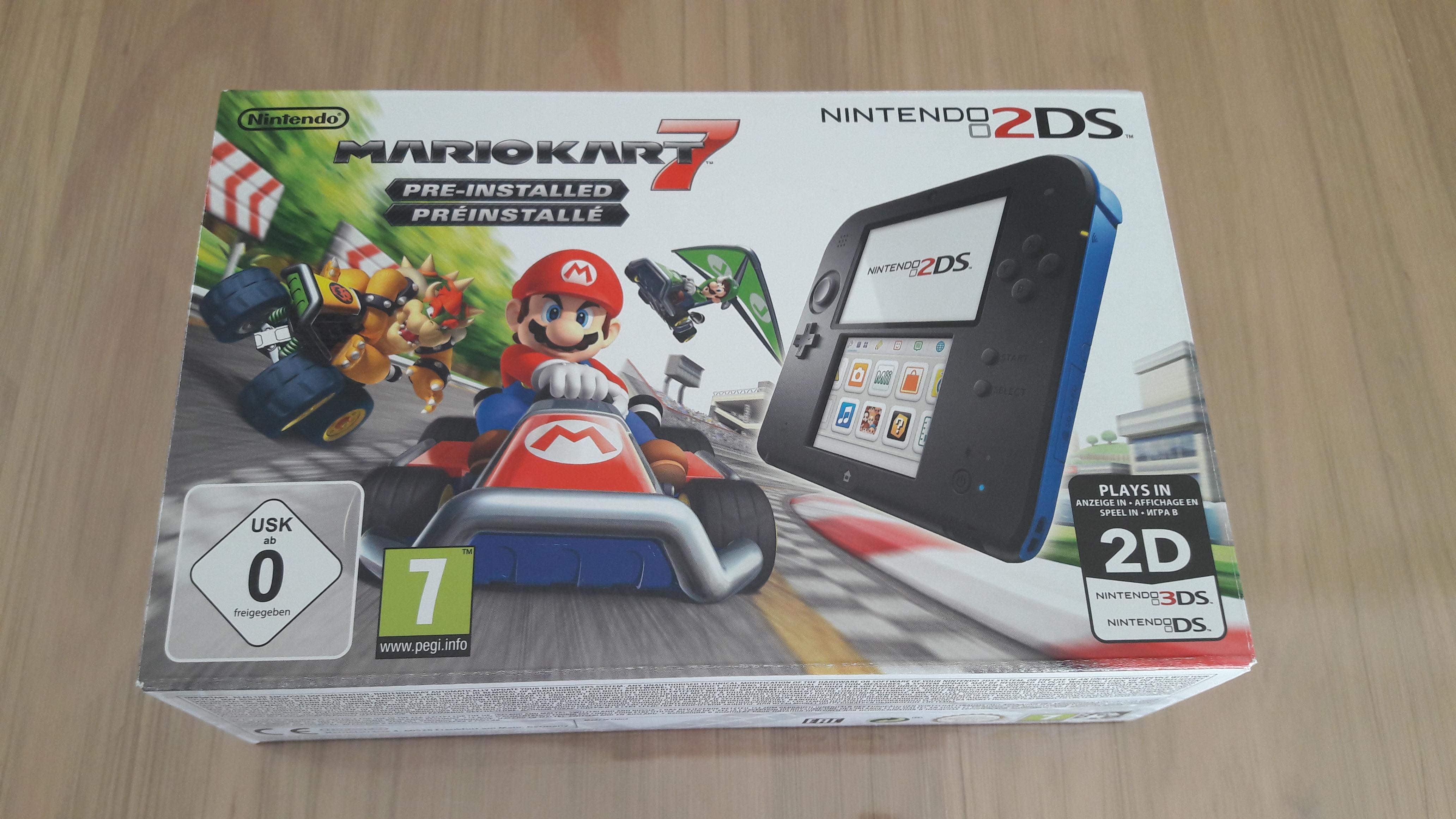 [VDS / ECH] Console Nintendo 2DS Mario Kart 7 quasi neuve 2DS1