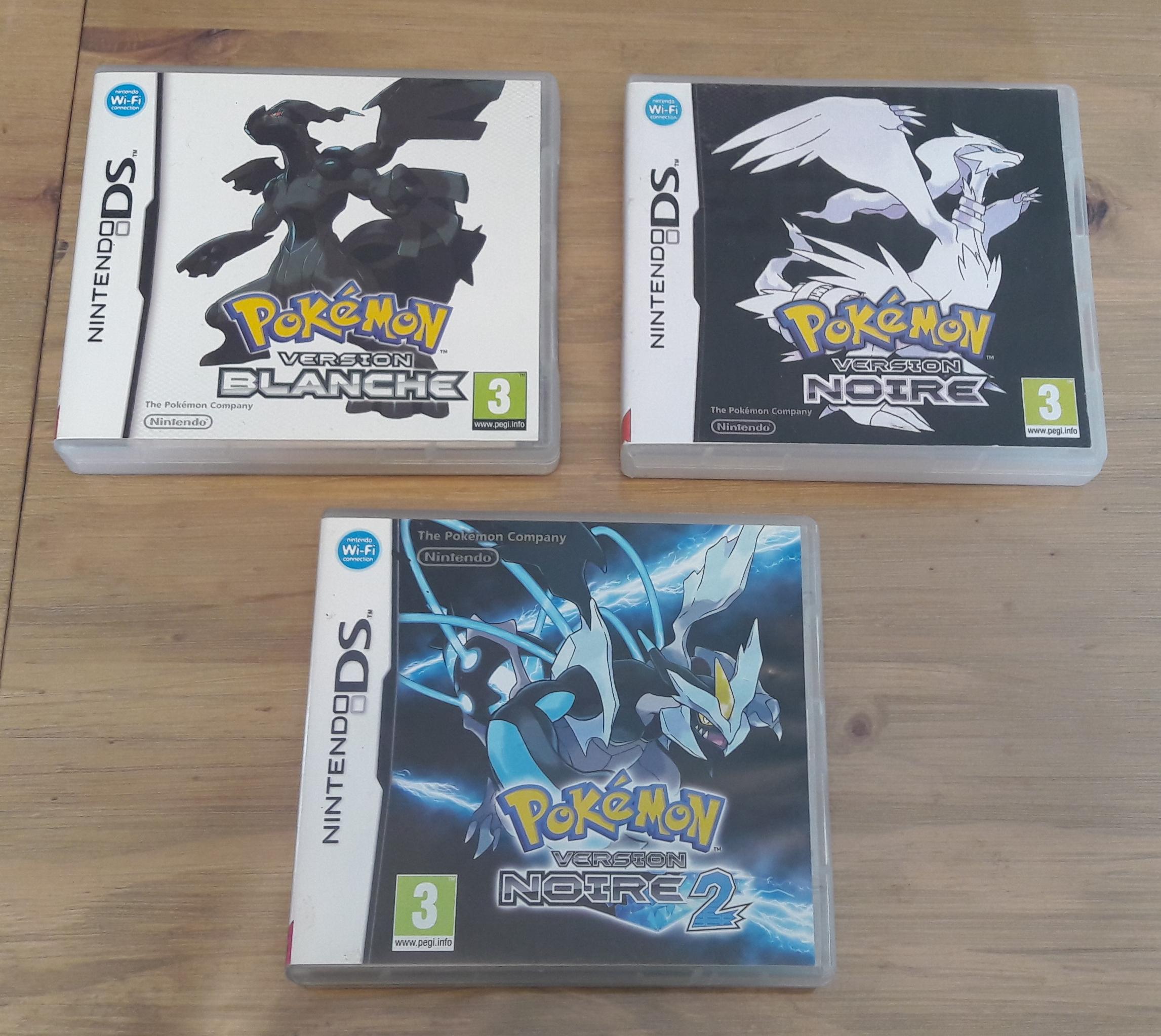 [ECH] Jeux DS et 3DS Poke