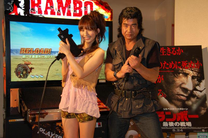 Após mais de 20 anos, Segata Sanshiro retorna para cantar tema em evento da Sega Rambo01jp