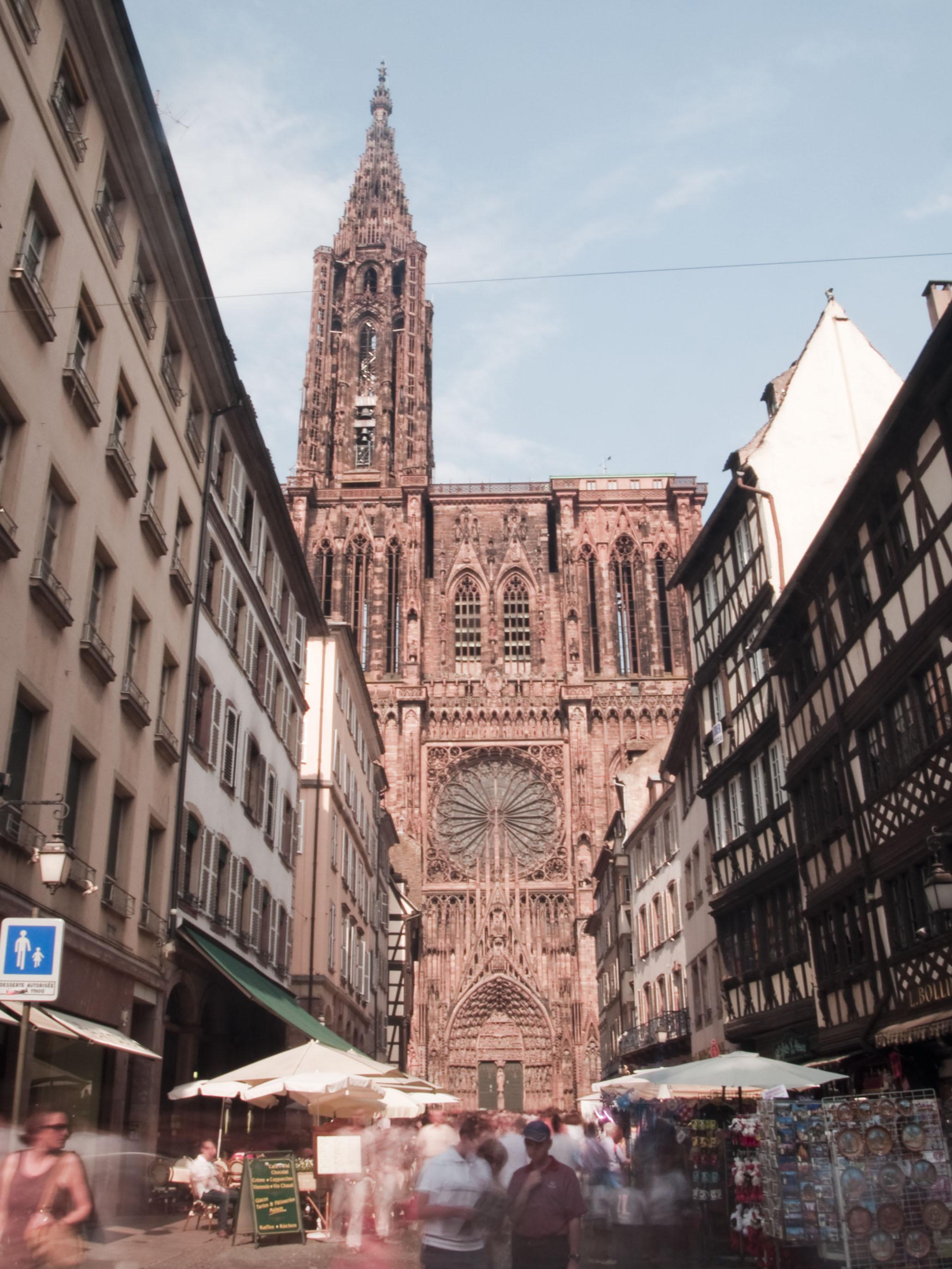 Castillos de Cine - Página 6 Strasbourg-Cathedral