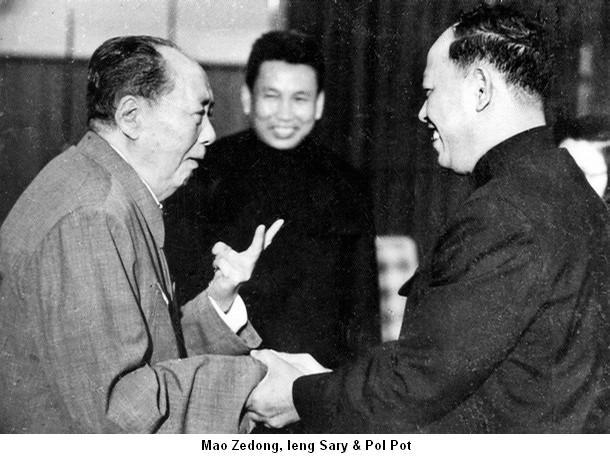 ¿Qué opinan de Pol Pot y su ataque a Vietnam? - Página 8 Mao-pol-pot