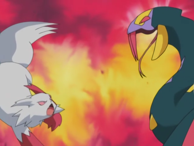 Zangoose vs Seviper AG048