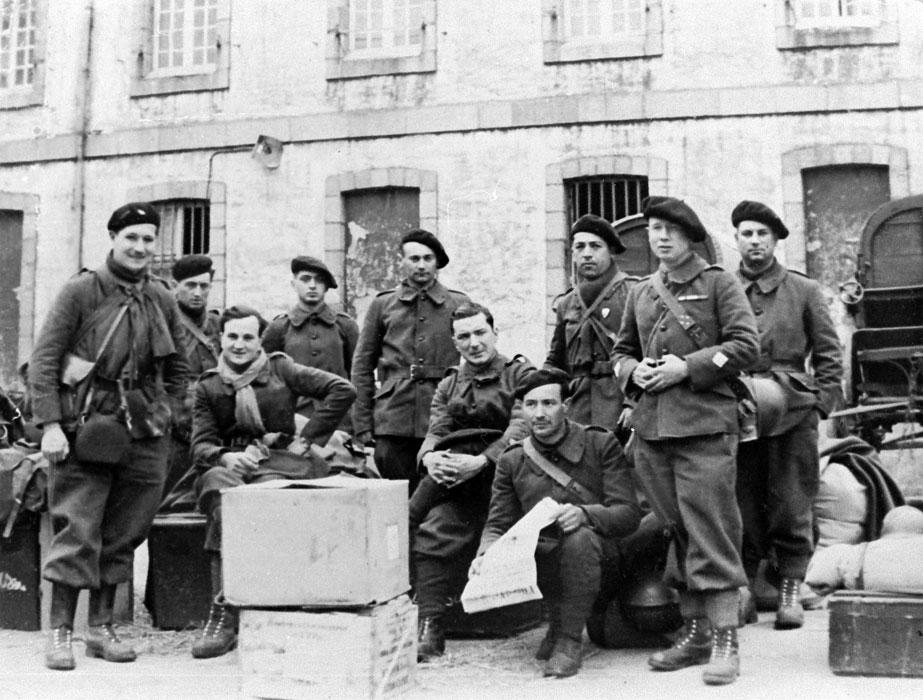 Défenses de la ville de Brest - Juin 1940 D25-01-65