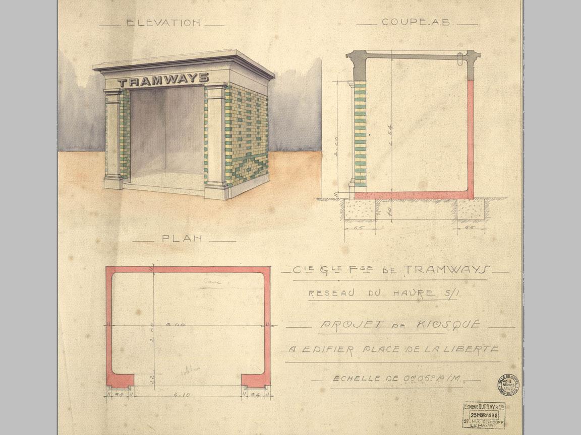 Photos historiques du réseau havrais (bus, tram, funi...) - Page 9 Vue21