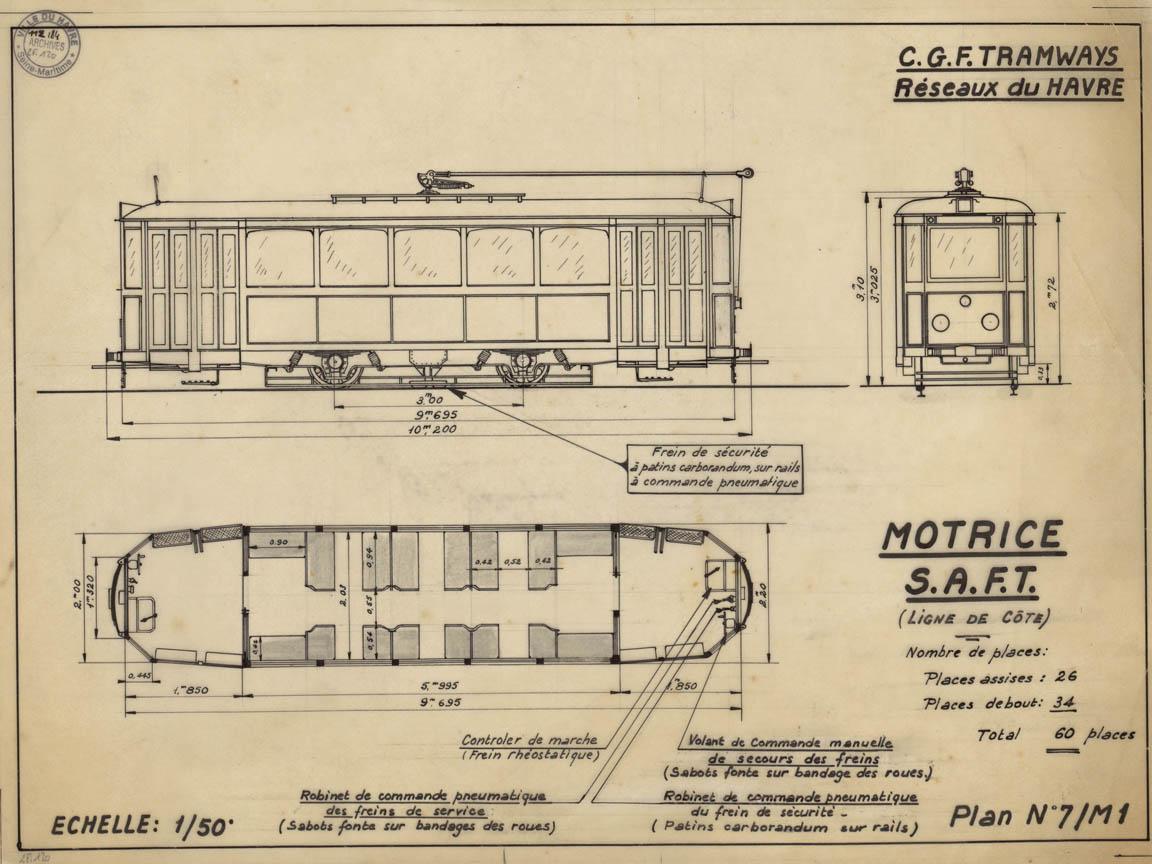 Photos historiques du réseau havrais (bus, tram, funi...) - Page 9 Vue23