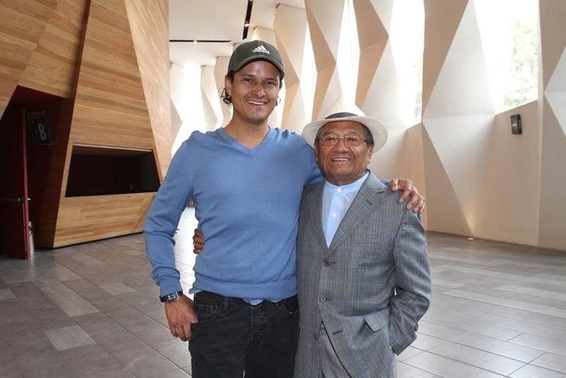 ¿Cuánto mide Armando Manzanero? - Altura - Real height Manza_hijo-movil