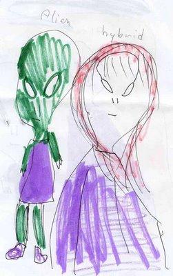 Abductions : dessins des enfants / vidéo Hybrid1