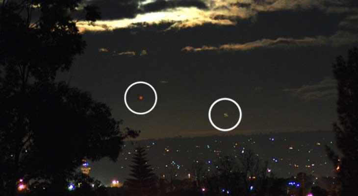 Mystérieuses lumières sur Perth Hills (Australie) 0680139300