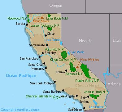 Boules blanches en Californie Californie
