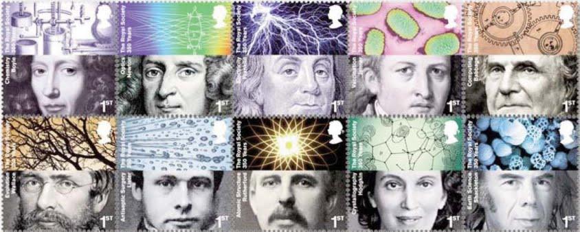 Les plus éminents cerveaux scientifiques se sont rassemblés aujourd'hui pour discuter la question des ovnis Royal_society_set