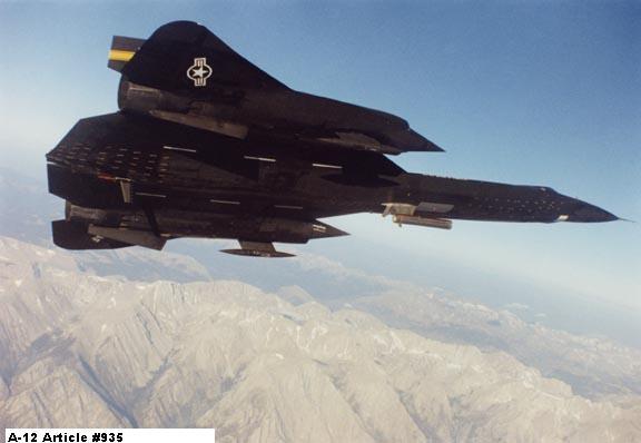 Lockheed SR-71 Black Bird Yf-12
