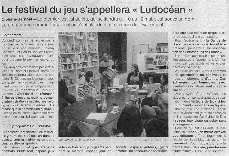 Festival Ludocéan à Clohars-Carnoët, 11-12 mai Ludocean-Clohars-Carnoet