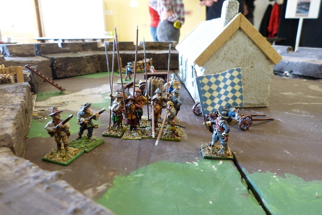 [Troupes] Guerre de Trente Ans. Infanterie. Drill