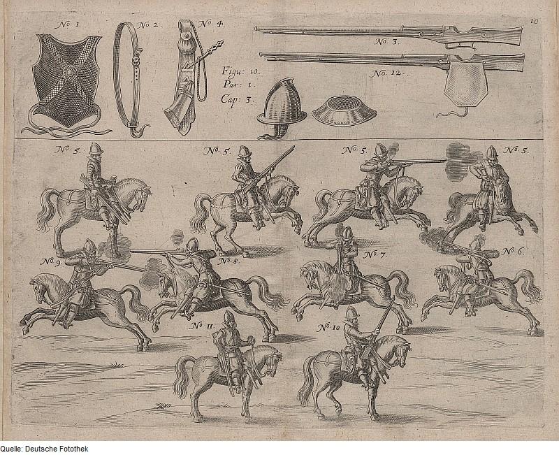 [Troupes] Guerre de Trente Ans. Cavalerie. Harquebusiers-move