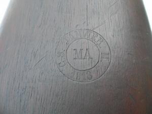 Fusil Mle 1886 M93, MAS 1890 FSA%201917%20du%201%B0%20type-macaron%20crosse-GD