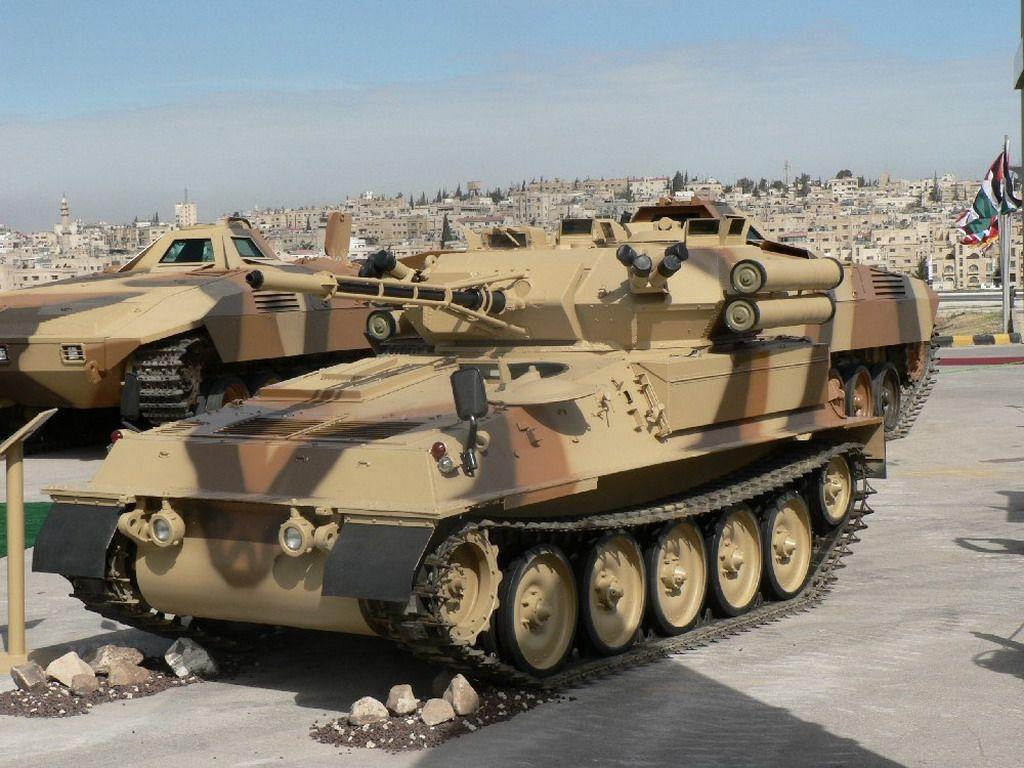 Fuerzas Armadas de Jordania Sofex_2006_Special_forces_operations_defence_exhibition_Scorpion_cvrt_missile_kornet_002