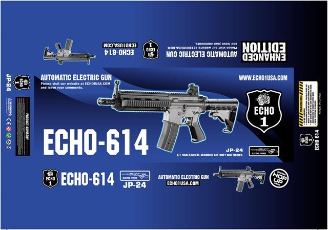 E1 and JG HK 416 Echo614