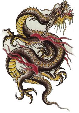 Kínai negyyed utcái China-dragon-91-c