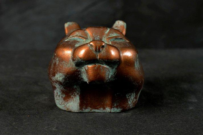 Projet pour frostgrave  - Page 2 Sculpture-Chat-Bronze-Oxyde-f