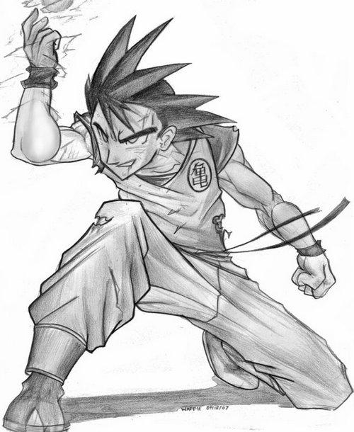 روسمات دراغون بول زد Goku_by_papawaff