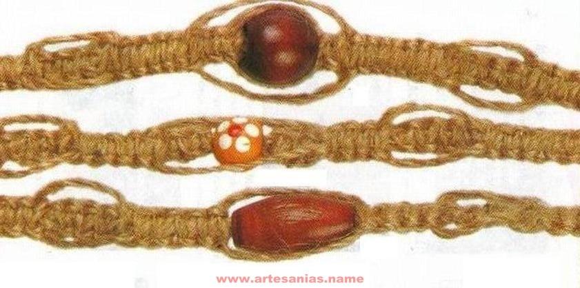 lindas pulseras macrame Pulsera-de-macrame-10
