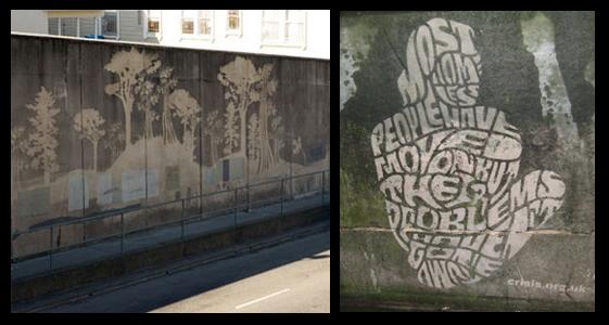 Pintadas, grafittis y otras mierdas del arte hurvano ese. Paulmoosecurtis