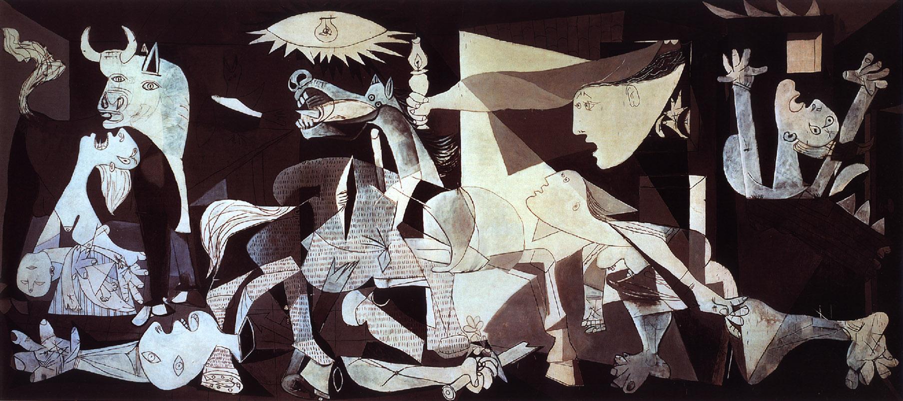 PABLO PICASSO +++RECOMENDADO DICIEMBRE DE 2010+++ Guernica-de-picasso