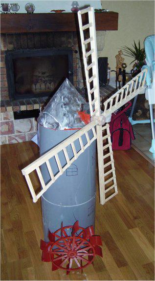 mon moulin pour décorer mon bassin Moulin1