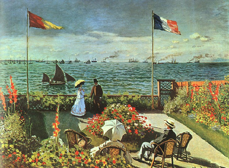 Beaux Jardins  - Jardins de Monet - Jardins de la Villa Taranto - Jardins de Butchart - ect Claude-monet-peinture-4