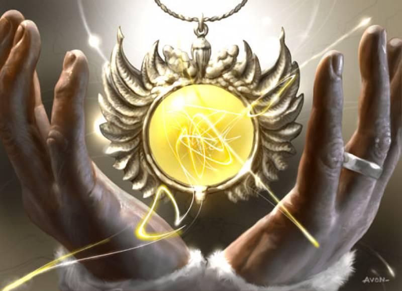 Суппер!!! талисман для предсказания на таро!!! Dawncharm-artfond
