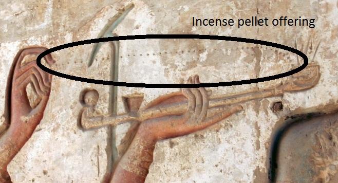 El incienso en el antiguo Egipto Votd-incensepelletofeering
