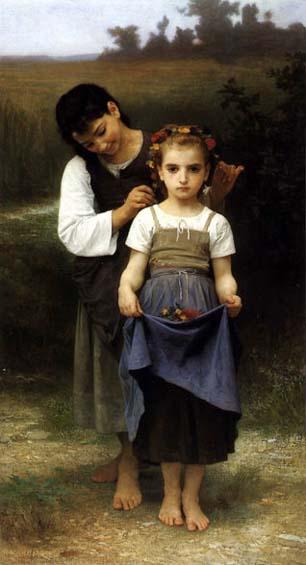 الرسام  الفرنسي وليام بوجويريو ومجوعه من اعماله Bouguereau