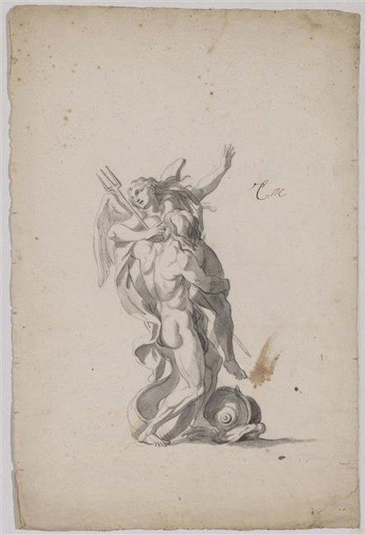 Coronis, Neptune et la corneille 768