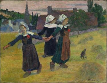 La  FEMME  dans  l' ART - Page 2 Gauguin_bretonnes(1)