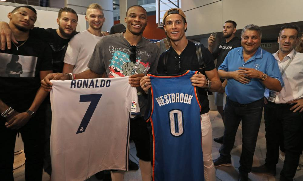 ¿Cuánto mide Russell Westbrook? - Estatura real: 1,91 - Real height 1475431225_707801_1475433641_noticia_normal